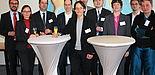 Foto (Universität Paderborn, Patrick Kleibold): Begrüßung der neuberufenen Professorinnen und Professoren.