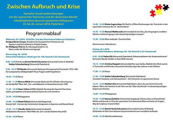 Abbildung: Programm