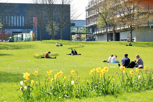 Campus in spring