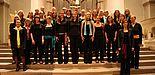 """Foto (UniSono): Der Hochschulchor """"UniSono"""" der Universität Paderborn wird ebenfalls beim großen Weihnachtskonzert im Franziskanerkloster zu sehen sein."""