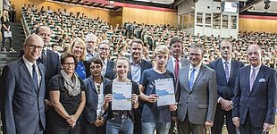 Foto (Universität Paderborn, Florian Krause): Gruppenbild
