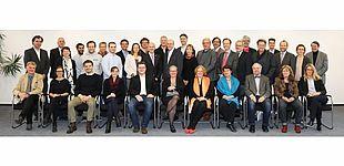 Foto (Universität Paderborn, Adelheid Rutenburges, 8.11.2017): Der neu gewählte Senat.