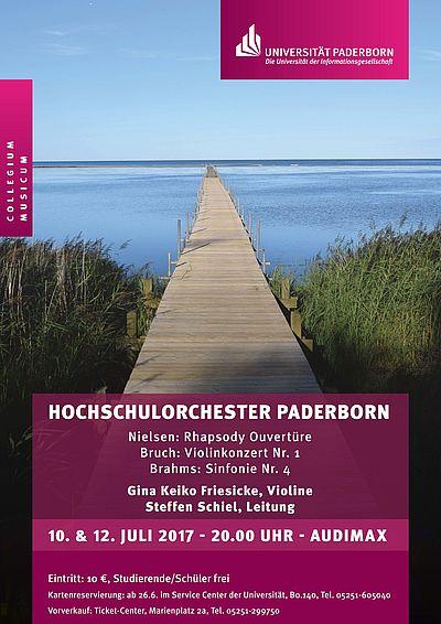 Konzerte 2017: Nielsen, Bruch und Brahms