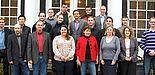 Foto (Universität Paderborn, Thomas Zentgraf): Die Teilnehmerinnen und Teilnehmer des Workshops.