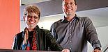 Foto (Universität Paderborn): Prof. Dr. Sybille Hellebrand und Prof. Dr. Marco Platzner