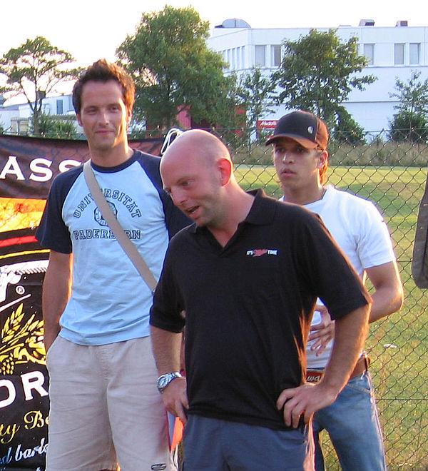 Foto: Die Organisatoren der Student GolfTrophy: Felix Lobert, Markus Stöß und Daniel Farr (v.l.).