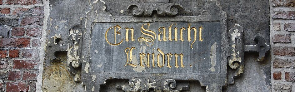Fassadenspolie aus der Leidener Rathausfassade - Ströhmer, 2015