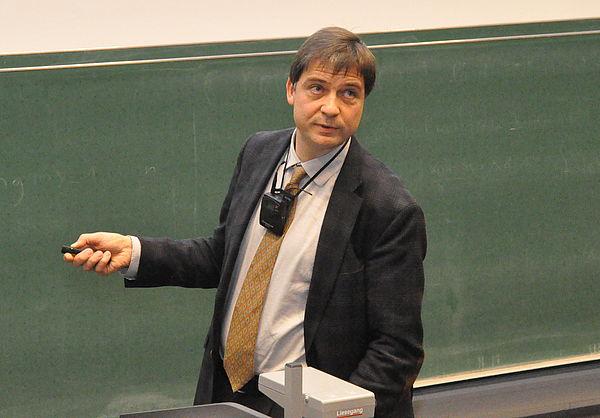 Foto: Prof. Dr. Felix Otto vom Max-Planck-Institut für Mathematik in den Naturwissenschaften, Leipzig.