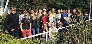 Foto (Universität Paderborn, Sportmedizin): Gruppenbild