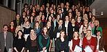 Foto (Maren Büttgen): Absolventinnen und Absolventen des Ersten Staatsexamens Dezember 2013.