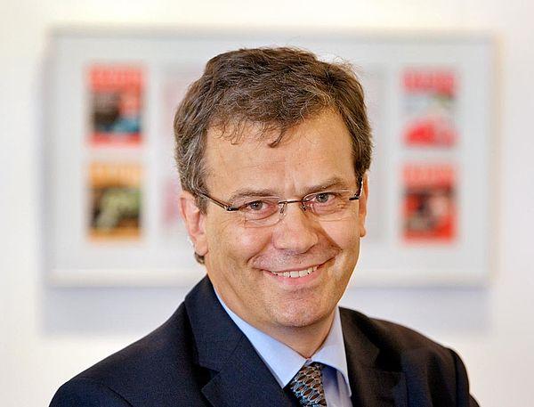 Foto (Neue Westfälische): Thomas Seim, Chefredakteur der Bielefelder Tageszeitung Neue Westfälische
