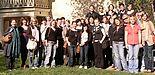 Foto: Gruppenbild der Studierenden mit Prof. Dr. Ströter-Bender in Weimar