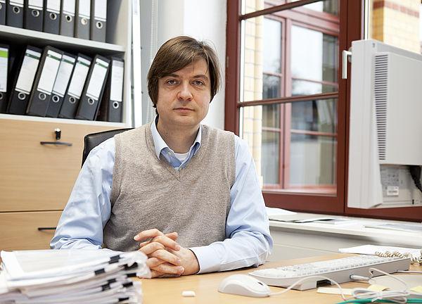 Foto (Die MediaLoge): Prof. Dr. Felix Otto vom Max-Planck-Institut für Mathematik und Naturwissenschaften, Leipzig.