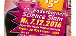 Plakat 11. PB Science Slam