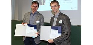 Foto: Prof. Dr. Carsten Schulte (l.) und Prof. Dr. Holger Karl