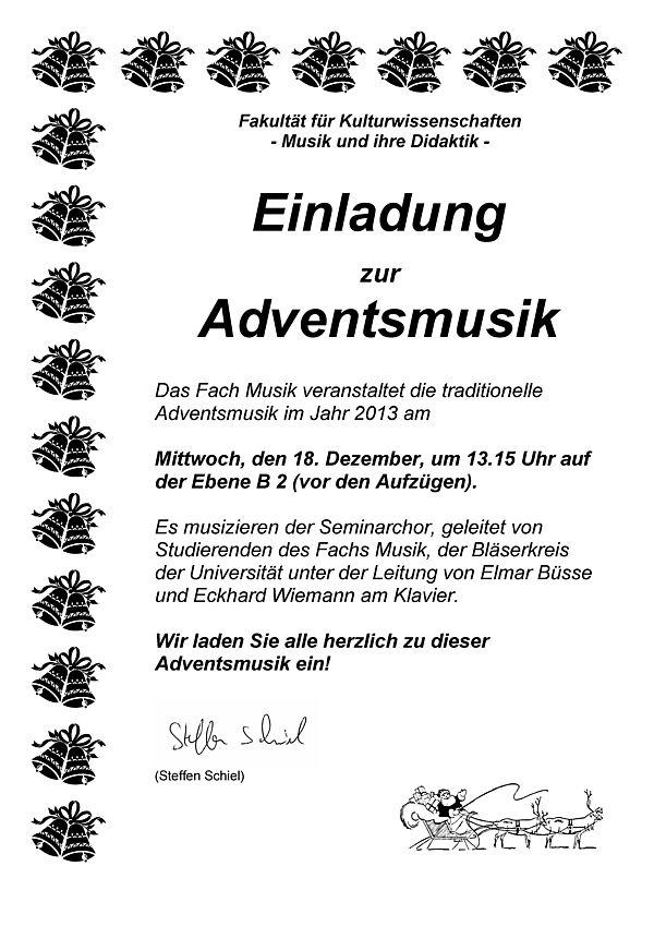 Abbildung: Einladung