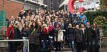 Foto (Universität Paderborn): Schülerinnen und Schüler besuchten am Welttag der Philosophie die Universität Paderborn.
