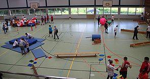 Foto (Universität Paderborn): Stationen des wettbewerbfreien Angebots