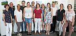Foto (Heiko Appelbaum): Die Organisatorinnen Dr. Yvonne Koch und Sandra Bischof (v. r.) im Kreise der ausgezeichneten Fotografinnen und Fotografen.