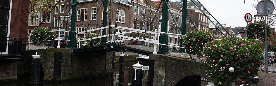 Kerkbrug über den Alten Rhein in Leiden - Ströhmer, 2015