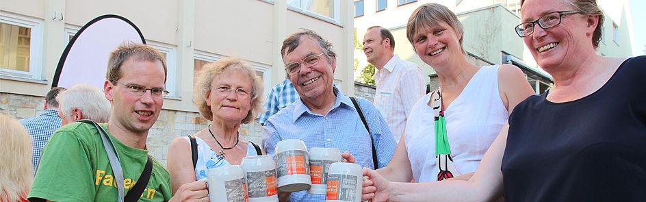 Das Ehemaligen-Treffen findet jedes Jahr am Libori-Freitag von 17.30 bis 19.00 Uhr auf dem Franz-Stock-Platz statt.