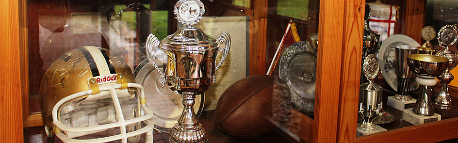 Pokale und Auszeichnungen