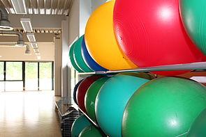 Gymnastikraum im SP2-Gebäude