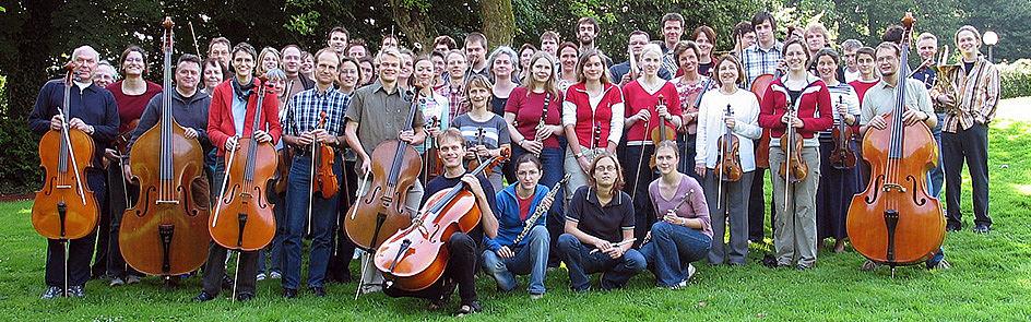Hochschulorchester Paderborn - Probenwochende in Stapelage 2004