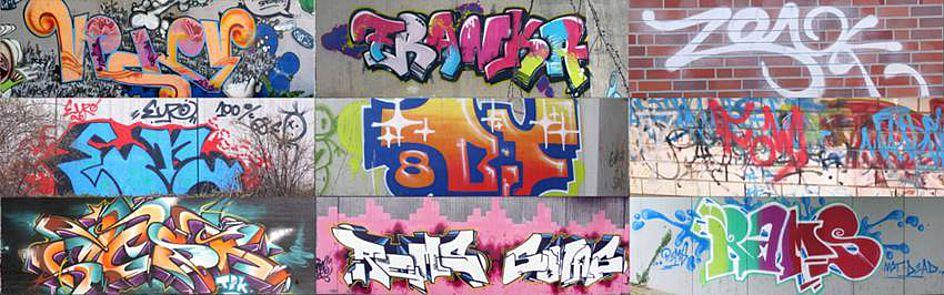 """Im DFG-geförderten Projekt """"InGriD"""" bauen Sprachwissenschaftler und Kunsthistoriker mit Unterstützung von Digitalisierungsexperten ein Informationssystem auf, in dem rund 120.000 Aufnahmen von Szene-Graffitis dokumentiert werden. Die Aufnahmen werden damit Forscherkollegen weltweit zugänglich gemacht und können nach sprach- und bildbezogenen Kategorien gefiltert werden."""