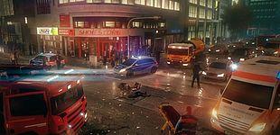 Abbildung (Promotion Software GmbH): Szene aus dem Spiel Emergency 5: Gamer können hier virtuell Einsätze von Feuerwehr, Polizei und Rettungsdienst simulieren. Auf dieser Basis entwickeln die Forscher aktuell ein Trainingssystem für den Katastrophensch