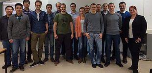 Foto (Julia Goltz Phoenix Contact GmbH & Co. KG): Die Teilnehmer/innen des Workshops und Referentin Nina Fittkau (rechts).