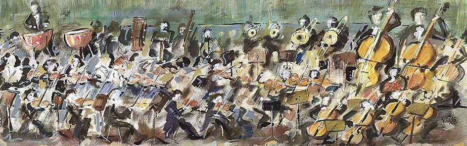 Orchesterbild von Florian Söll