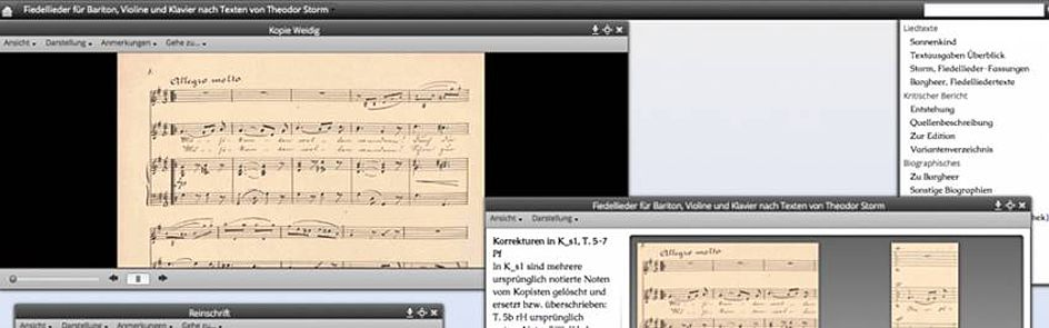 """Tablets statt Notenblätter: Im Zentrum """"Musik-Edition-Medien"""" (ZenMEM) forschen Wissenschaftler an der Digitalisierung von Noten. Sie schaffen damit neuartige Zugänge zur musikalischen Überlieferung von Mozart, Beethoven und Co. und revolutionieren auch die musikalische Praxis."""