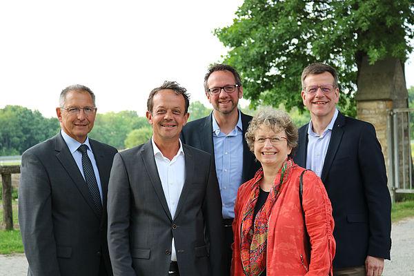 Foto (Universität Paderborn, Alexandra Dickhoff): Gruppenbild