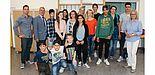 Foto (Universität Paderborn, Johannes Pauly): Die Schülerinnen und Schüler der IGEL-AG kommen aus unterschiedlichen Ländern und lernen gemeinsam spielerisch die deutsche Sprache.