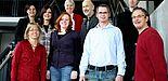 Foto (Universität Paderborn, Frauke Döll): Das Team der Zentralen Studienberatung der Universität.