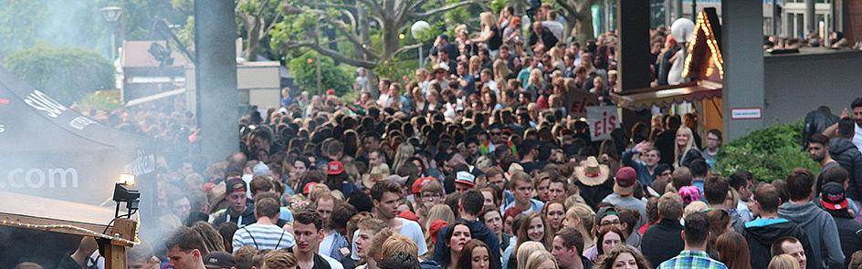 Auch zum AStA-Sommerfestival 2017 werden wieder rund 15.000 Besucher erwartet.