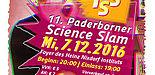 Plakat 11. PB Science Slam