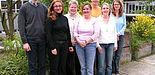 Foto (v. l.): Das Beratungsteam Dr. Tobias Volpert, Filiz Sen, Prof. Dr. Leena Suhl, Nermin Gülal, Ansgar Hinerasky, Katrin Henke und Ulla Zimmermann