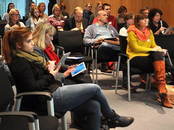 Foto (Universität Paderborn): Workshopteilnehmer.