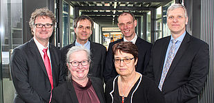 Das neue Präsidium der Universität Paderborn