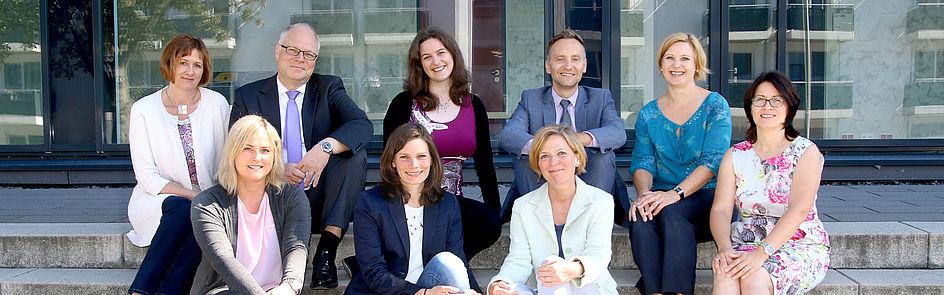 Die Ansprechpartner des Forschungsreferats an der Uni Paderborn