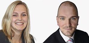 """Foto (hkp/// group): Catharina Kohnen und Hannes Klingenberg von der hkp/// group stellen am 12. Juli zum Thema """"Vergütungsprojekte in der Praxis – der Fall Formel Glass"""" ihre Erkenntnisse aus Sicht einer Unternehmensberatung vor."""