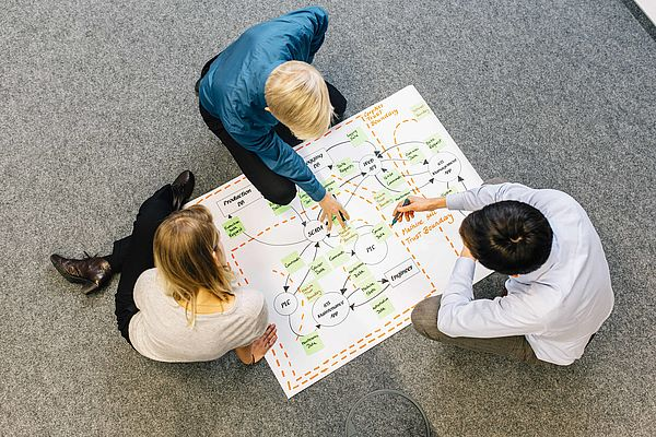Foto (Fraunhofer IEM): Die modellbasierte Methode STRIDE eignet sich besonders gut für eine fachübergreifende Bedrohungsanalyse in der Entwicklung softwareintensiver Systeme.