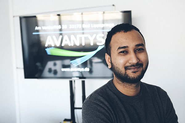 Foto: Sourav Senapati aus Indien, Student im Masterstudium Informatik der Universität Paderborn