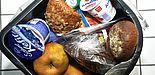 Abbildung: Lebensmittel im Mülleimer
