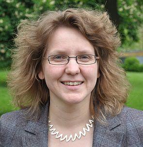 Foto: Prof. Dr. Christine Silberhorn, Fakultät für  Naturwissenschaften