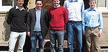 Foto: Der Vorstand am Tag der Gründung (v. l.): Ralf Liekmaier, Leon Müller, Markus Ottlik, Janis Reinecke, Sebastian Pust