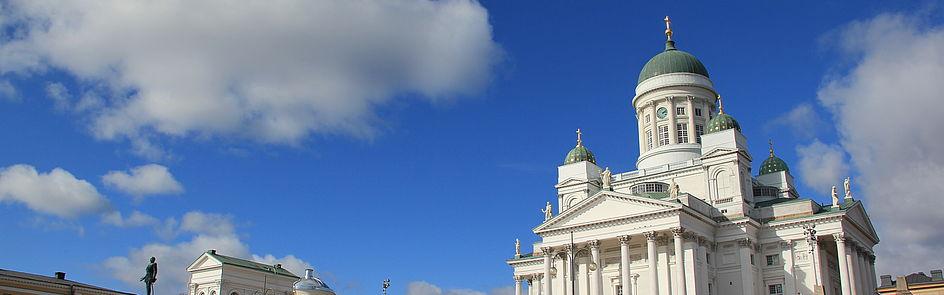 Der Dom von Helsinki (Helsingin tuomiokirkko)