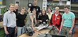 """Foto: """"AGB Racing Team"""" des Löhner August-Griese-Berufskollegs"""